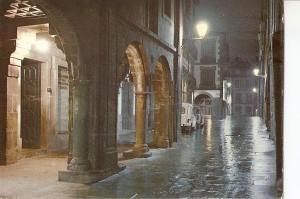 Postal 050257 : Santiago de Compostela. Rua del Villar. nocturna