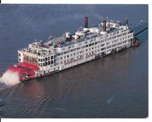 The Delta Queen Steamboat Postcard PC114H-6721