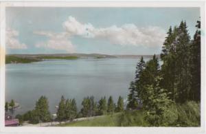 Parti av sjon Fryken, Varmland, Sweden, 1962 used Postcard