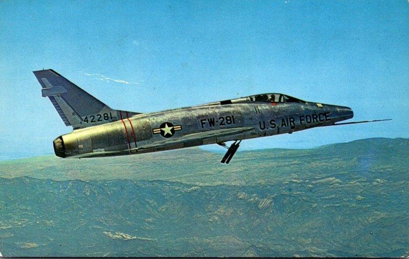 Super Sabre F-100D Goose Air Force Base Goose Bay Labrador 1960