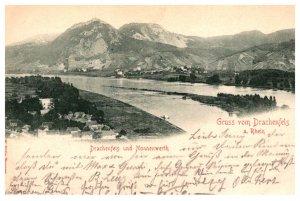 Germany  Drachenfels a.Rhein  Drachenfels und Nonnenwerth