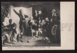 100868 FRANCE Episodes revolution Rouget de l'Isle chantant