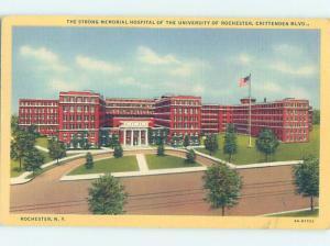 Linen HOSPITAL SCENE Rochester New York NY W3142