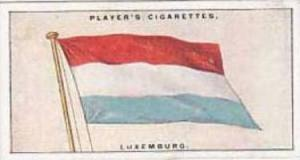 Players Vintage Cigarette Card Flags League Of Nations No 32 Luxemburg  1928