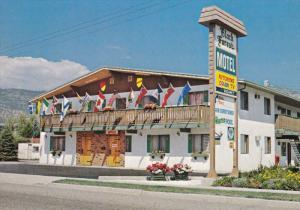 Black Forest Motel, PENTICTON, British Columbia, Canada, 50-70's