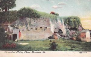 Virginia Yorktown Cornwallis Hiding Place