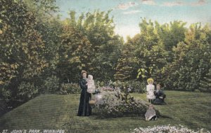 WINNIPEG, Manitoba, Canada, 1913; St. John's Park