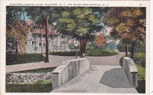 New York Stafford Bridge At Stafford Country Club