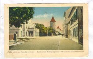 Stadttheater u. Befestigungsturme, Hermannstadt (Sibiu / Nagyszeben) , Romani...
