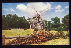 Eastham, Mass/MA Postcard, Historic Windmill, Cape Cod