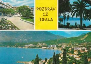 Yugoslavia Pozdrav Iz Igala Multi View 1973