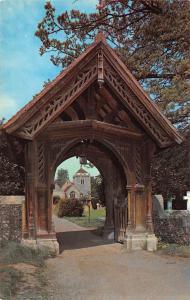 The Lych Gate, Stoke Poges Church Eglise