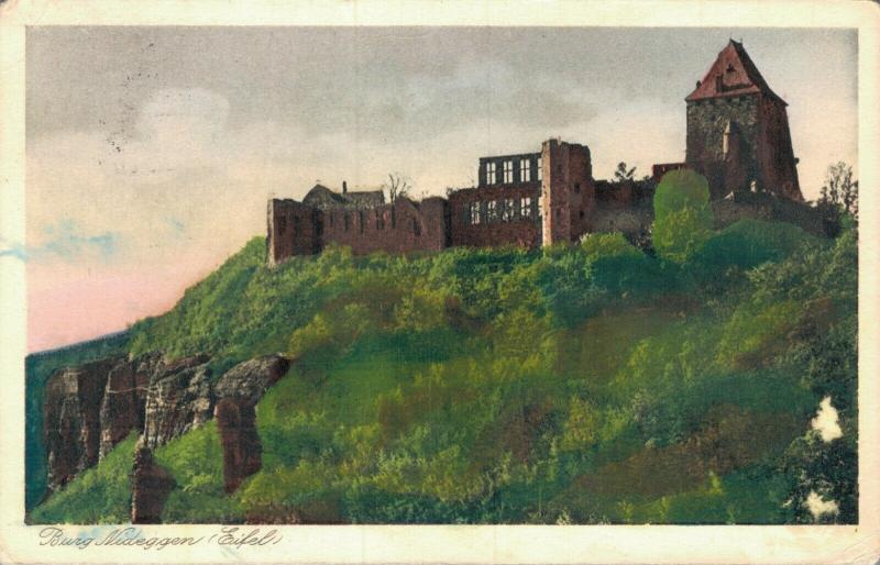 Germany Burg Nideggen Eifel 02.03