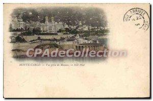 Old Postcard Monte Carlo Monaco shooting