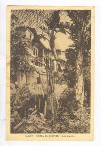 ALGER - Hotel St-GEORGE - Les Jardins, 1910s