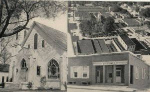 NASHVILLE , Tennessee, 1930s ; ME Church, City Hall, Courthouse Square