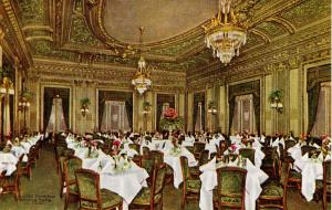 IL - Chicago. Hotel La Salle, The Louis XVI Dining Room   (Interior)