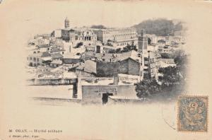 ORAN ALGERIA~HÔPITAL MILITAIRE~MILITARY HOSPITAL~J GEISER PHOTO POSTCARD c1910s