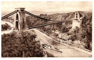 England  Clifton Suspension Bridge and  Leigh Woods