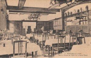 MONTIGNY-sur-LOING , France, 1900-10s ; Salle a Manger de l'Hotel de la Vanne Ro