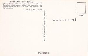 DOVER, Delaware, 50-60s; Canoe, Silver Lake