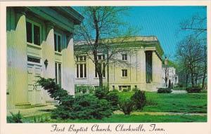 Tennessee Clarksville First Baptist Church