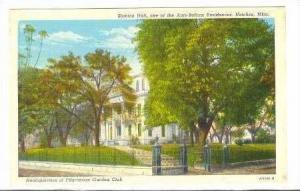 Headquarters of Pilgrimage Garden Club,Stanton Hall,Ante-Bellum Residence,Nat...