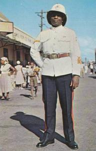 Native Policeman , KINGSTON , Jamaica , 40-60s