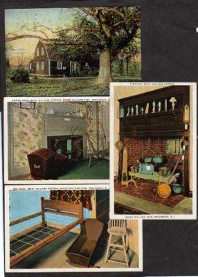 Lot 4 William Cottage PROVIDENCE RHODE ISLAND Postcards