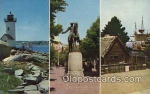Massachusetts USA, Light House, Houses Lighthouse, LightHouses Postcard Postc...