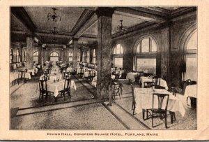 Maine Portland Congress Square Hotel Dining Hall