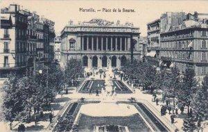 France Marseilles Place d ela Bourse