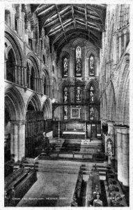 Hexham Abbey Choir and Sanctuary Interior Postcard