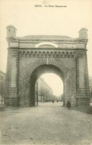 France, Metz, La Porte Serpenoise, early 1900s unused Pos...