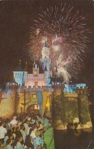 Disneyland Fantasy In The Sky Fireworks Over Castle
