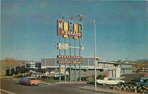 Autos El Dorado Motor Hotel roadside Nogales Arizona 1950s Petley 7424