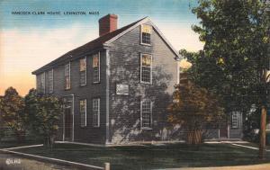 Hancock-Clark House, Lexington, Massachusetts, Early Postcard, Unused