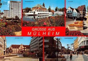 Gruesse aus Muelheim, Altstadt Wasserbahnhof Fussgangerzone Viktoria Platz