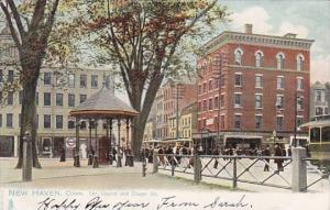 Cor Church And Chapel Streets New Haven Connecticut 1906