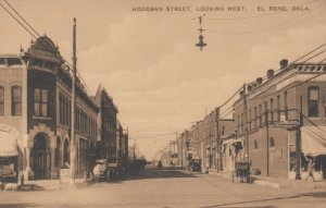 EL RENO, Oklahoma, 00-10s ; Woodsan Street