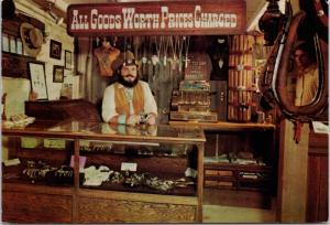 Silver Bar Jail & Jewelry Store Pinnacle Peak AZ Arizona Eric Drake Postcard D51