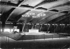 France Lourdes La Basilique St. Pie X L'Autel Basilica Interior