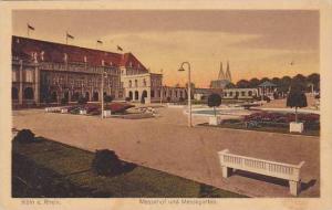 Messehof und Messegarten, Koln a. Rhein, Lower Saxony, Germany, 10-20s