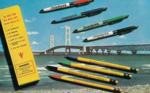 Gardner Stamp Company , WILKES-BARRE , Pennsylvania , 1950-60s ; Ball Point Pens
