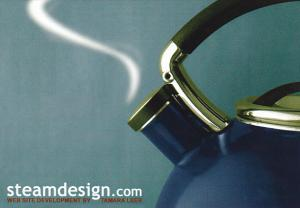 Advertising Steamdesign Website Development by Tamara Leer Vancouver Canada