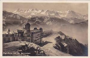 RP, Rigi-Kulm Und Die Berneralpen, Switzerland, 1920-1940s