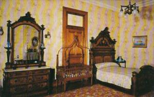 Indiana Indianapolis Bedroom Home Of Benjamin Harrison 23rd President