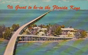 Florida Keys Seven Mile Bridge Over Pigeon Key 1969