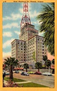 Arizona Phoenix Hotel Westward Ho Curteich