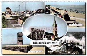 Postcard Modern Bernieres sur Mer